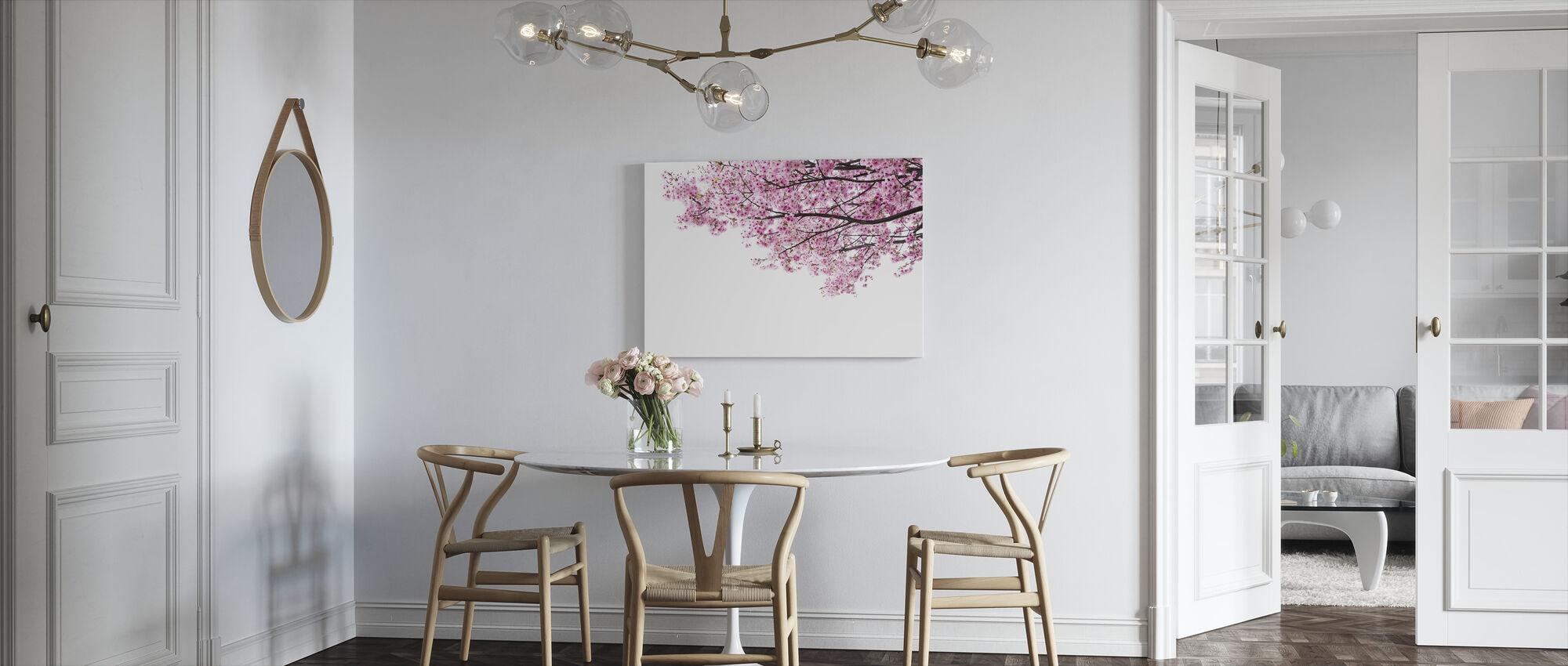 Pink Cherry Blossoms - Canvas print - Kitchen