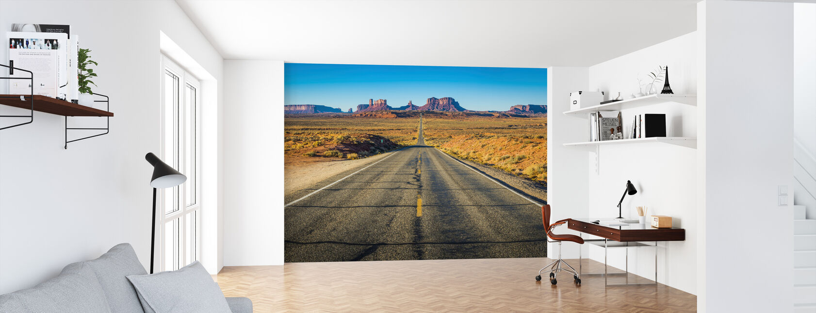 Monument Valley Road - Wallpaper - Office