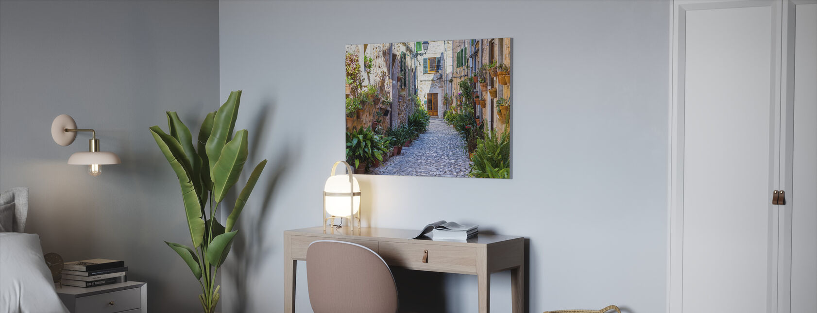 Plant Straat - Canvas print - Kantoor