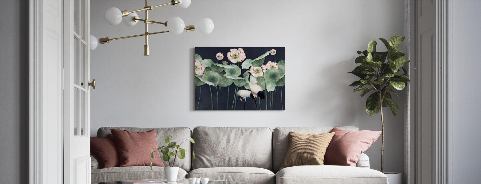 Cock a Hoop - Canvas print - Living Room