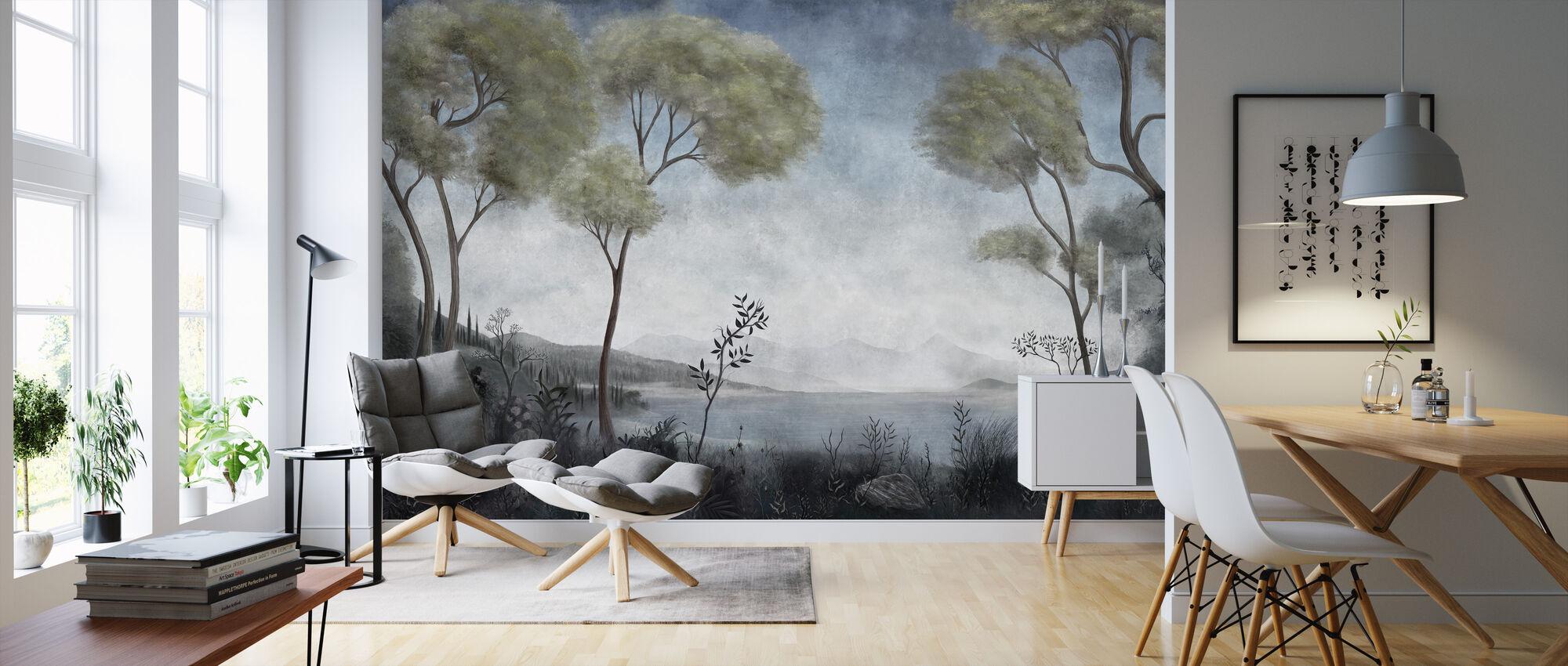 Lake Como - Wallpaper - Living Room