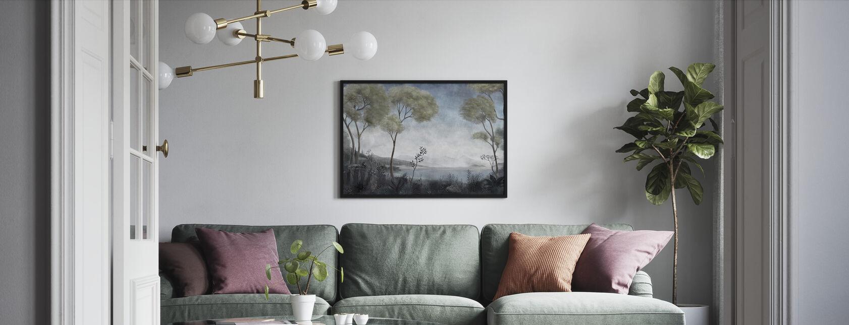 Lake Como - Framed print - Living Room