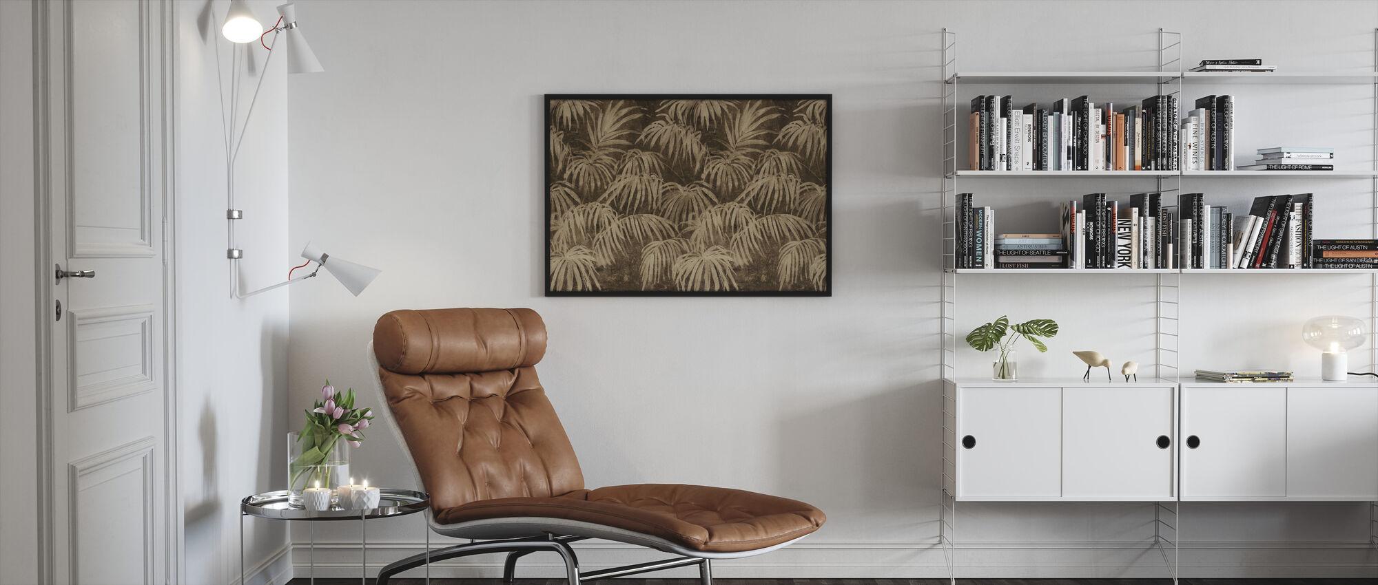 Bohemian Bamboo - Framed print - Living Room
