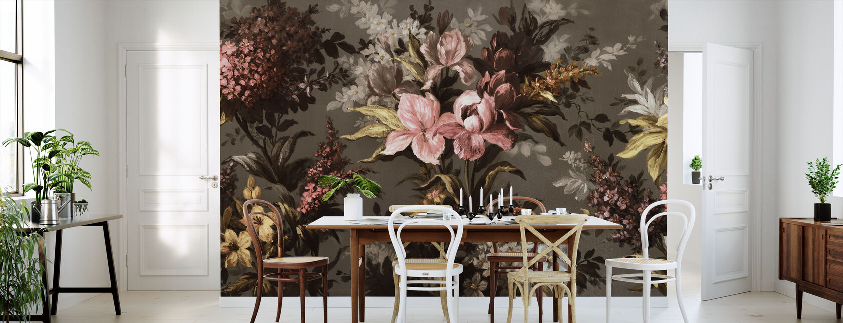 Boheme Flowering - Wallpaper - Kitchen