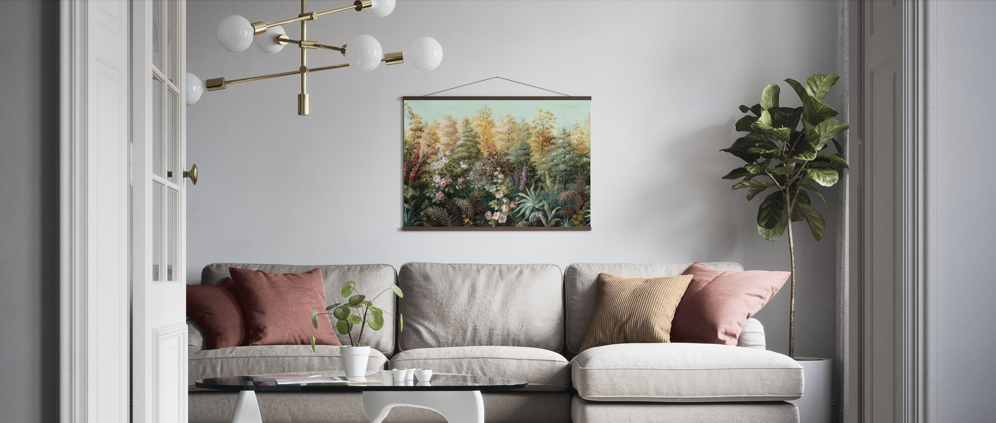 Wonderland Potpourri - Poster - Living Room