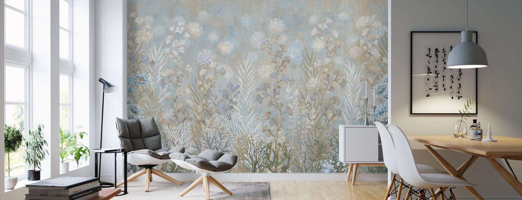 Marine Garden - Wallpaper - Living Room