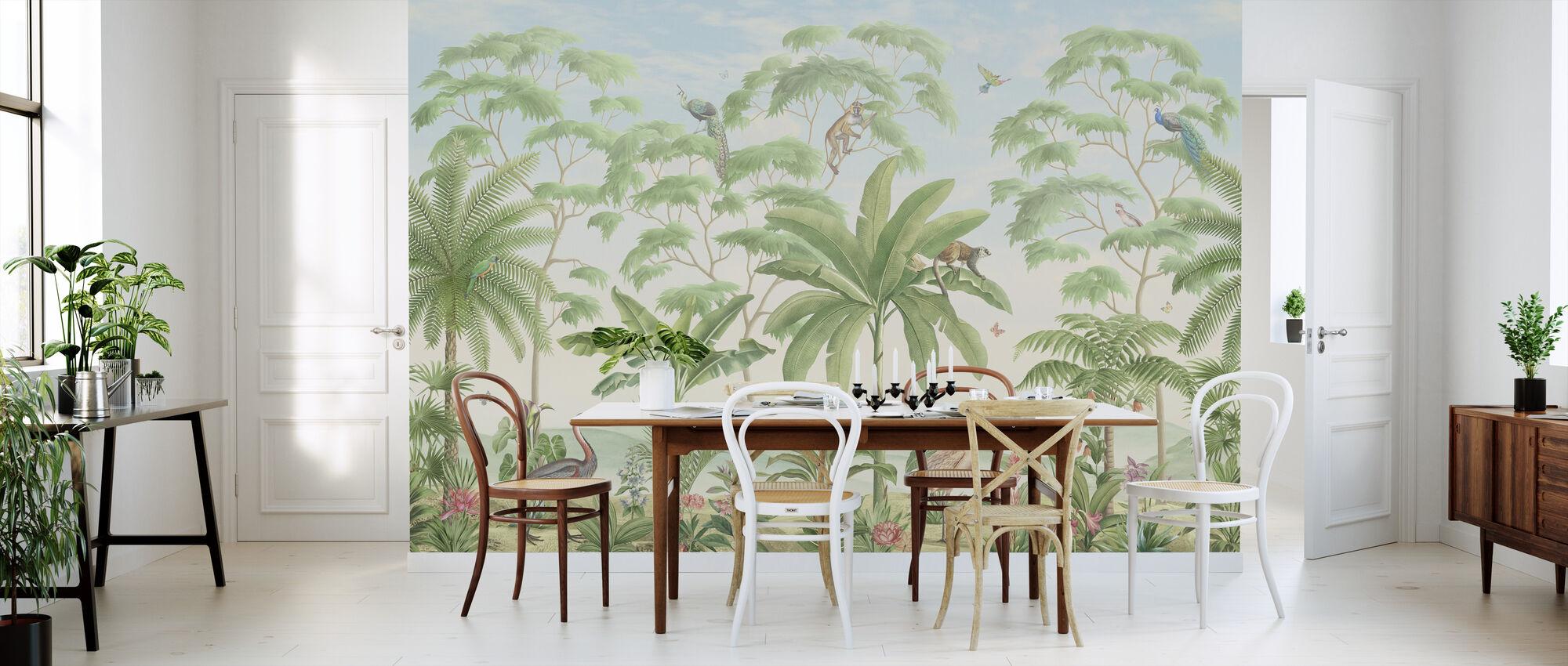 Tropical Eden - Wallpaper - Kitchen