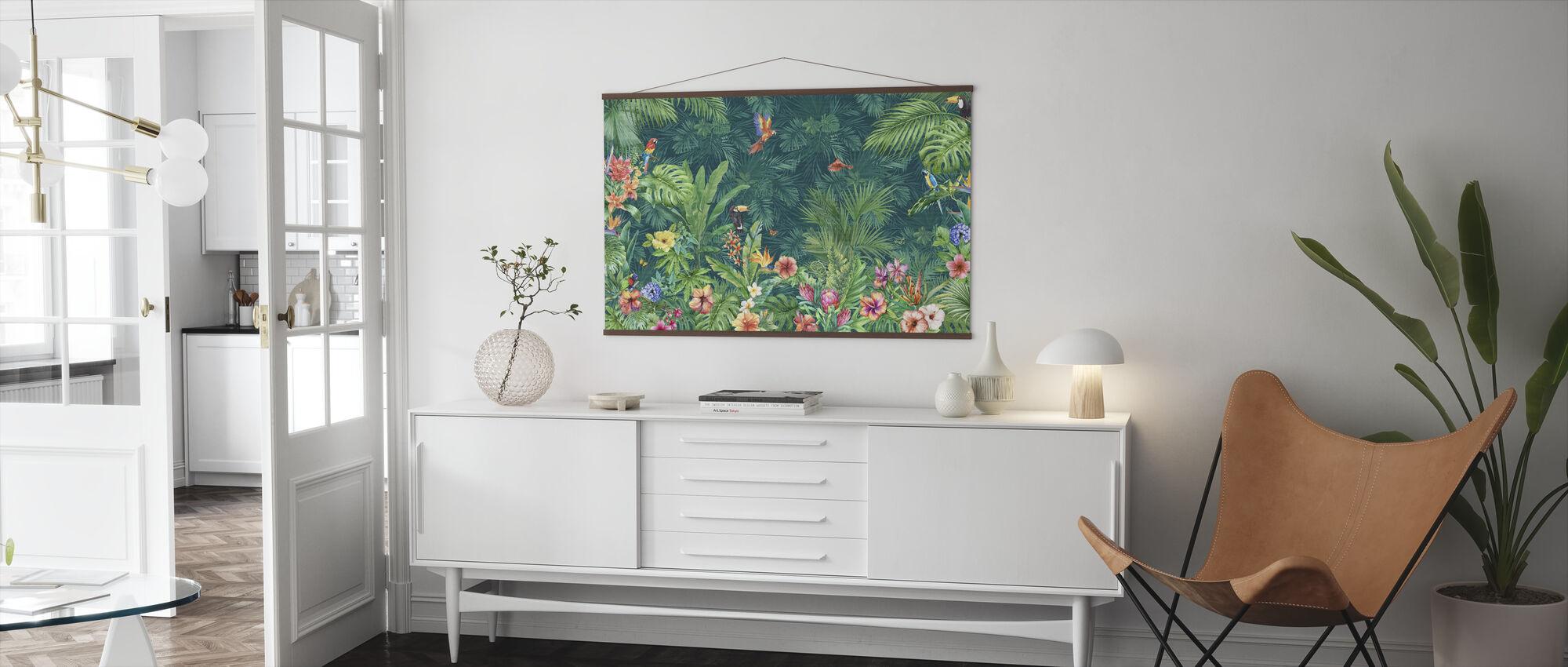 Tropical Harmony - Poster - Living Room