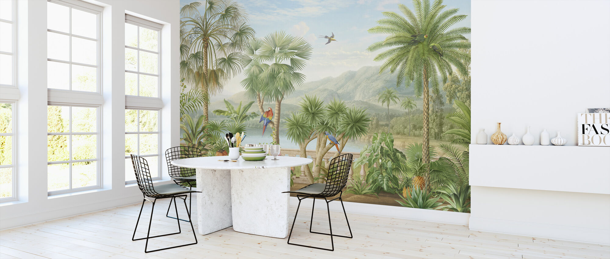 Tropical Plateau - Wallpaper - Kitchen