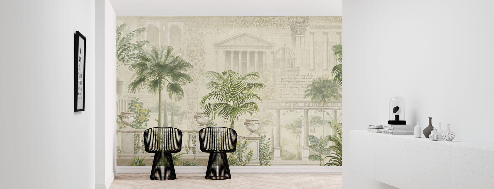 Tropical Residence - Wallpaper - Hallway