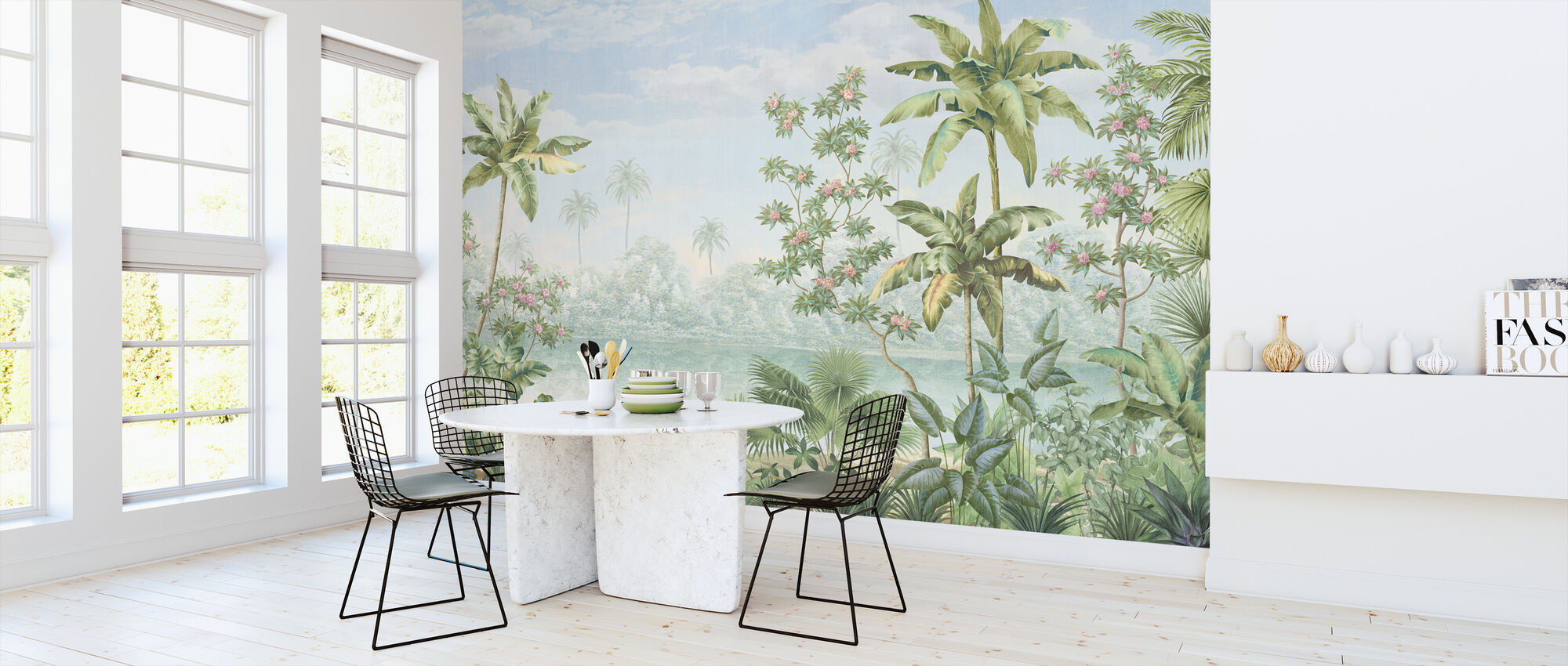 Tropical Shangri-La - Wallpaper - Kitchen