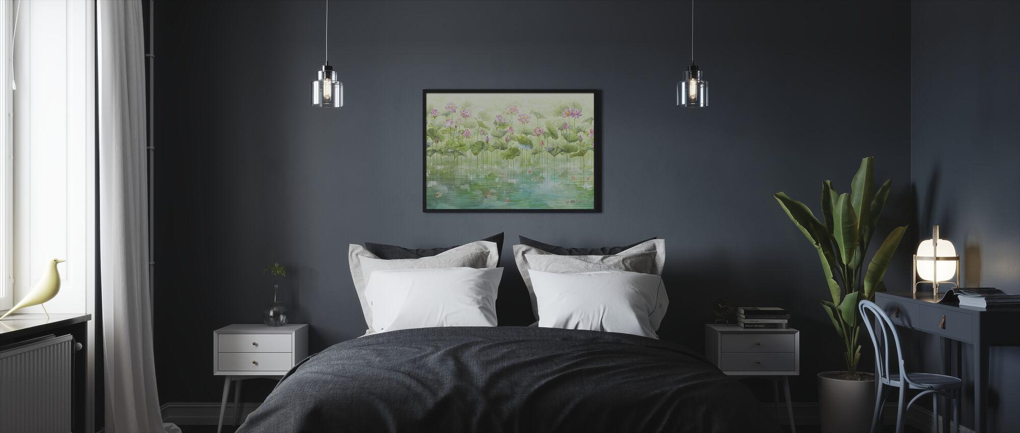 Koi Koi - Framed print - Bedroom