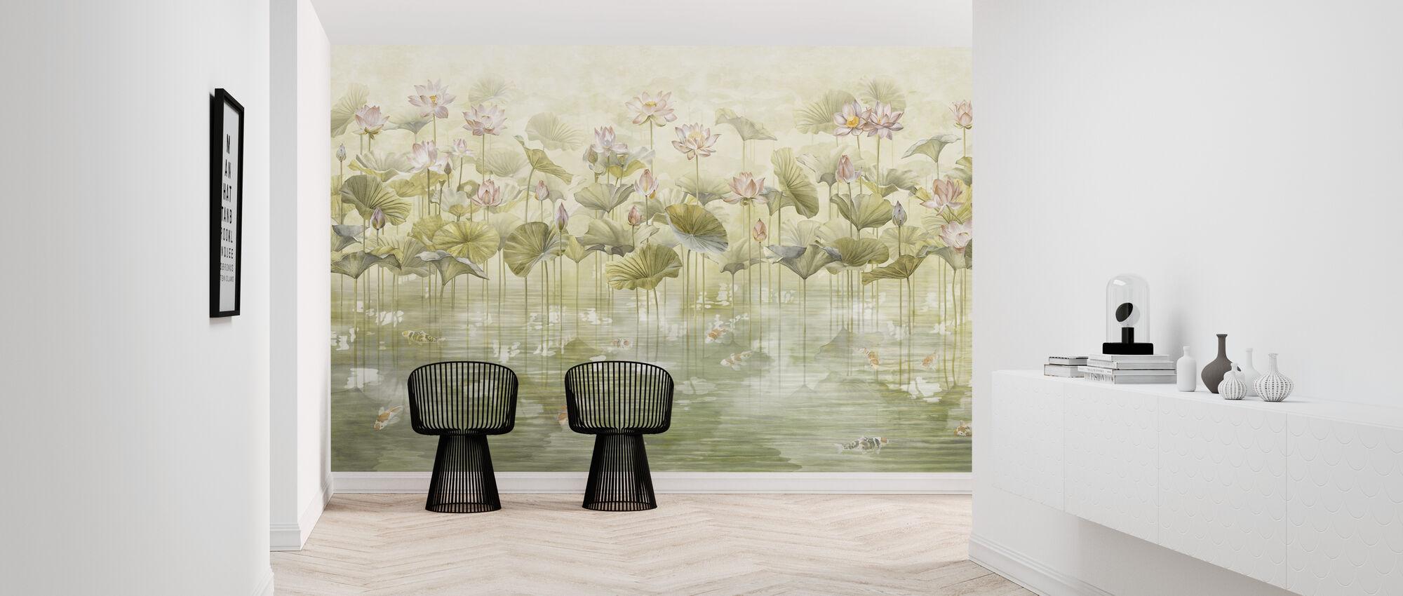 Koi Koi - Sepia - Wallpaper - Hallway