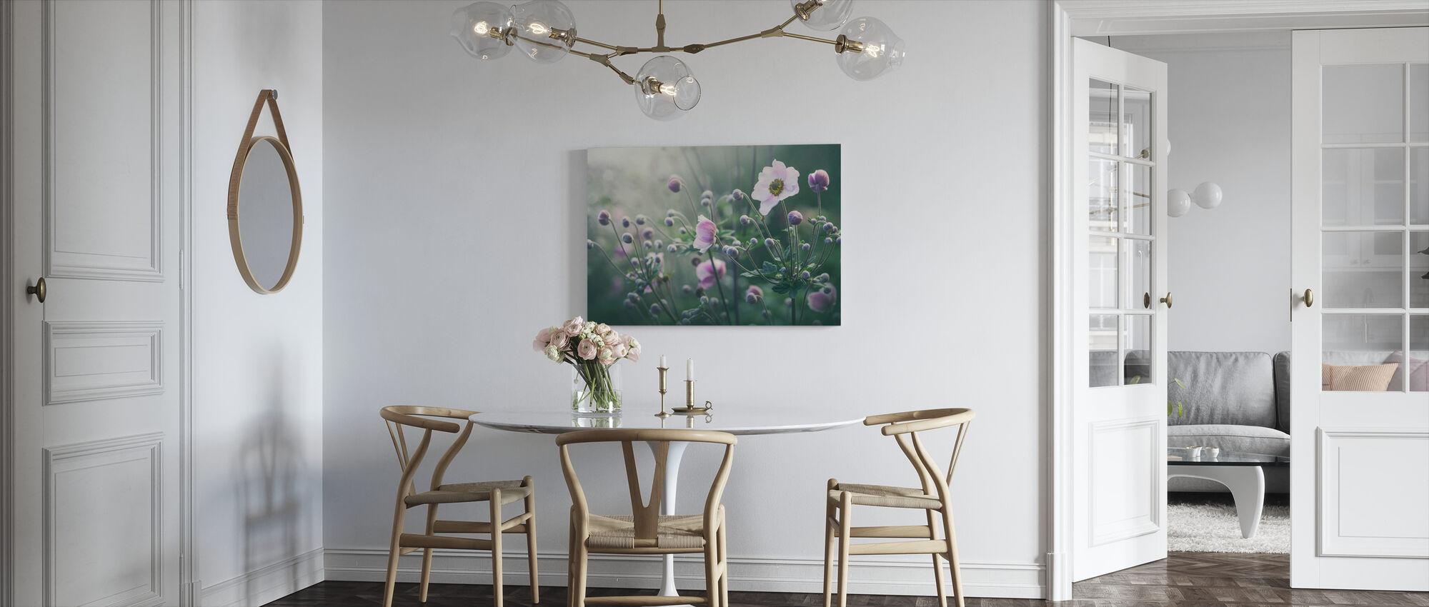 Anemone Flowers in Bloom - Canvas print - Kitchen