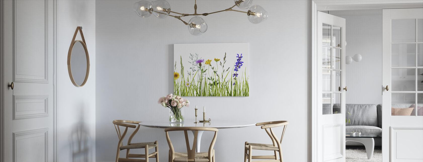 Wildflower Meadow - Canvas print - Kitchen