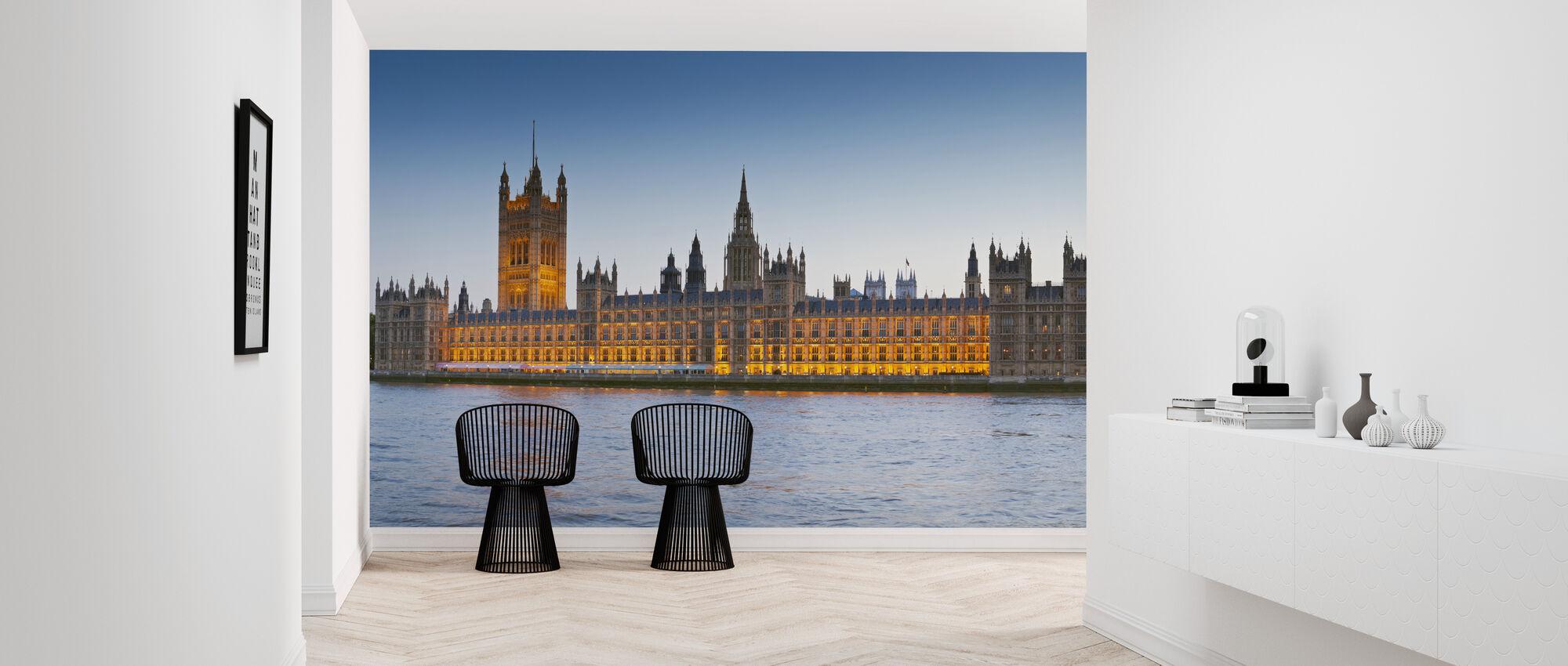 Big Ben y las Cámaras del Parlamento - Papel pintado - Corredor