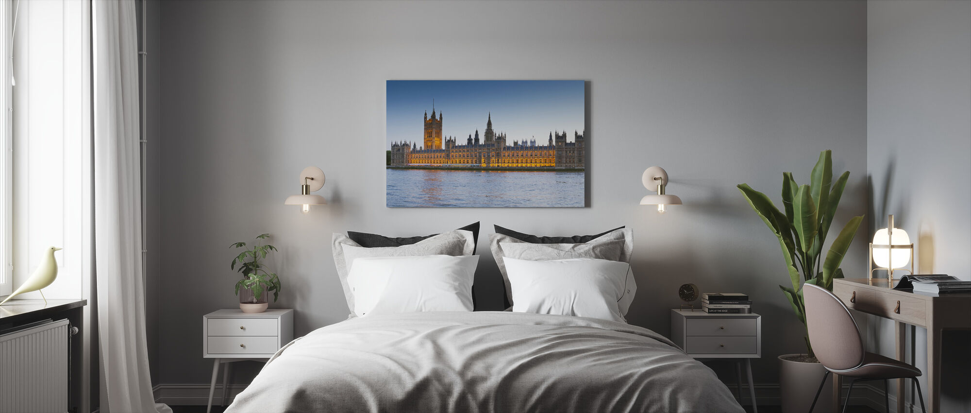 Big Ben and Houses of Parliament - Canvas print - Bedroom