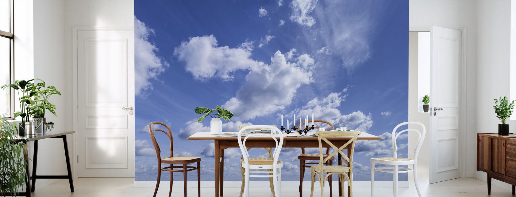 Smuk sommerhimmel - Tapet - Køkken
