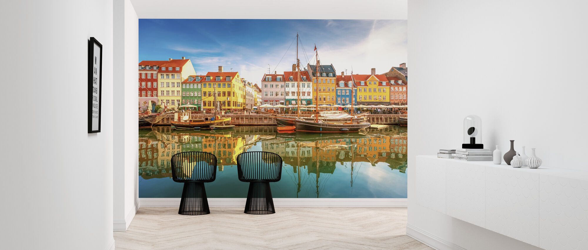 Nyhavn Canal - Wallpaper - Hallway