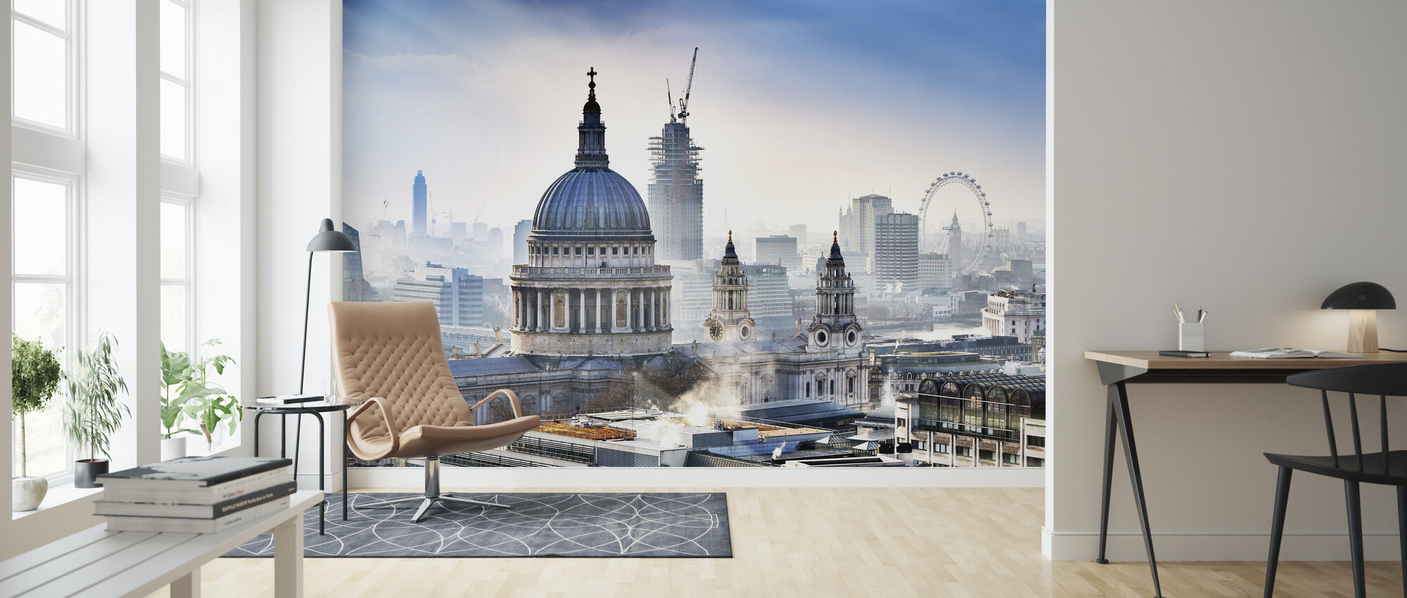 St Pauls Cathedral - Wallpaper - Living Room