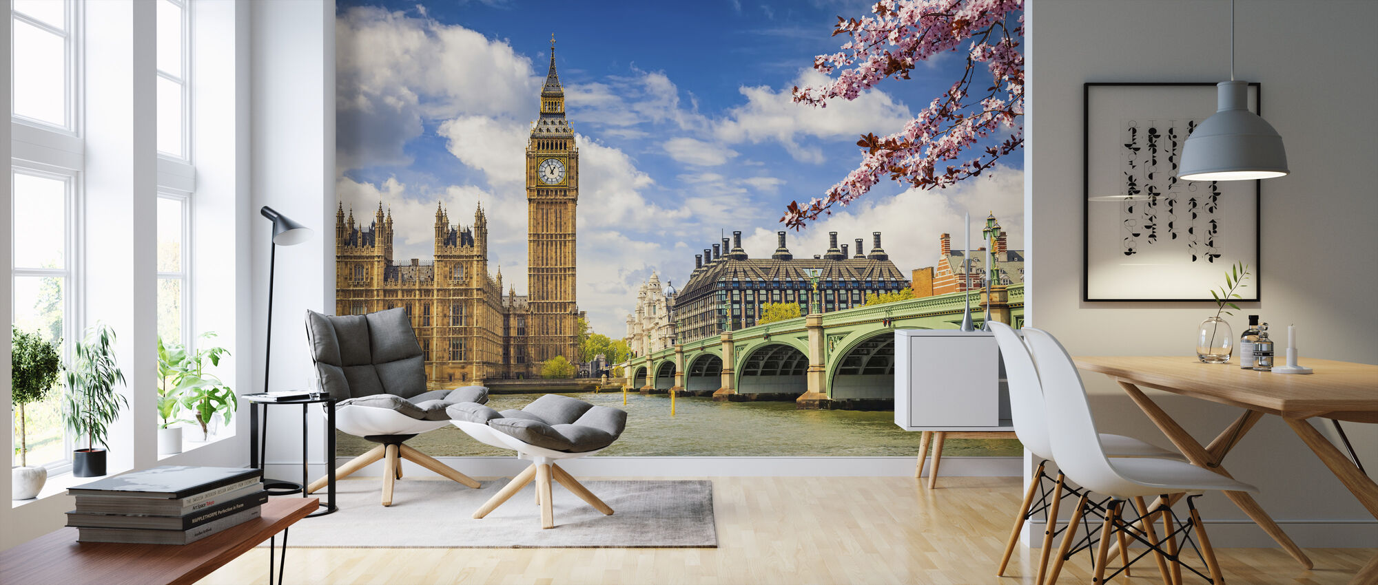 Big Ben - Wallpaper - Living Room