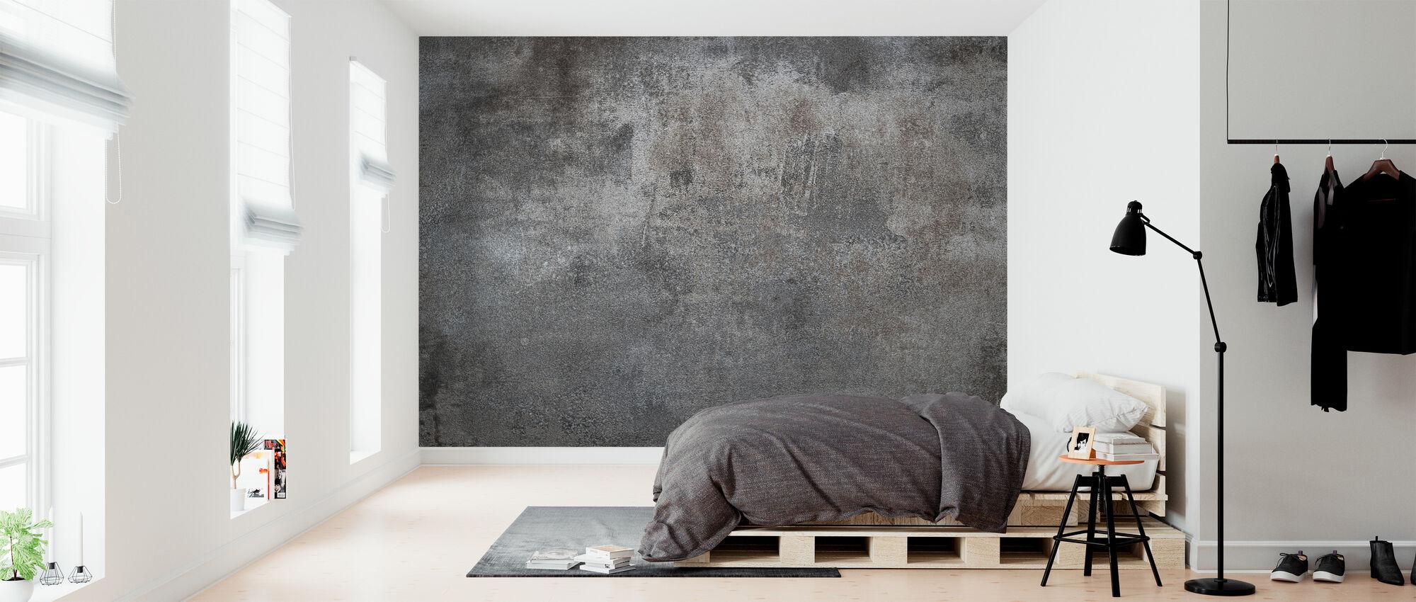 Grunge Metal Texture - Wallpaper - Bedroom