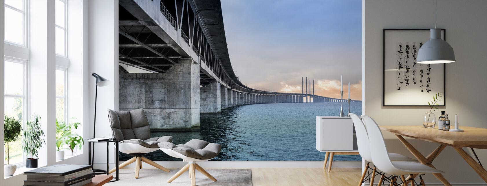 Øresundsbroen - Tapet - Stue