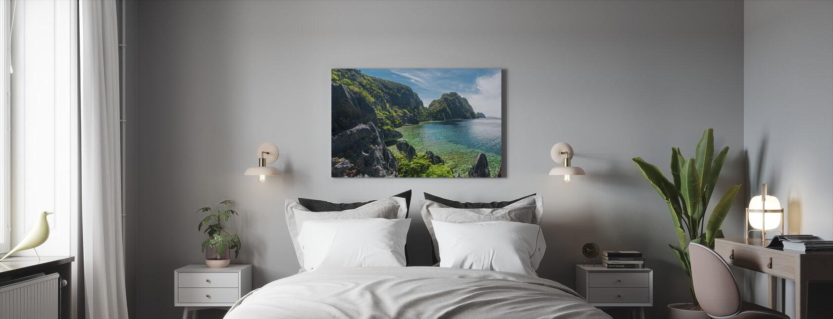 Het Nido eiland - Canvas print - Slaapkamer