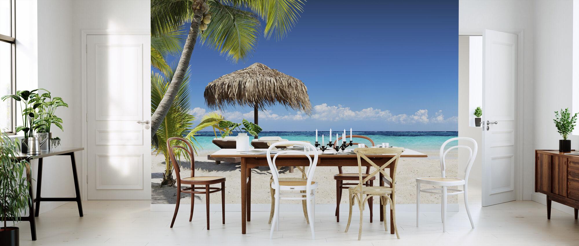 Coral Strand - Behang - Keuken