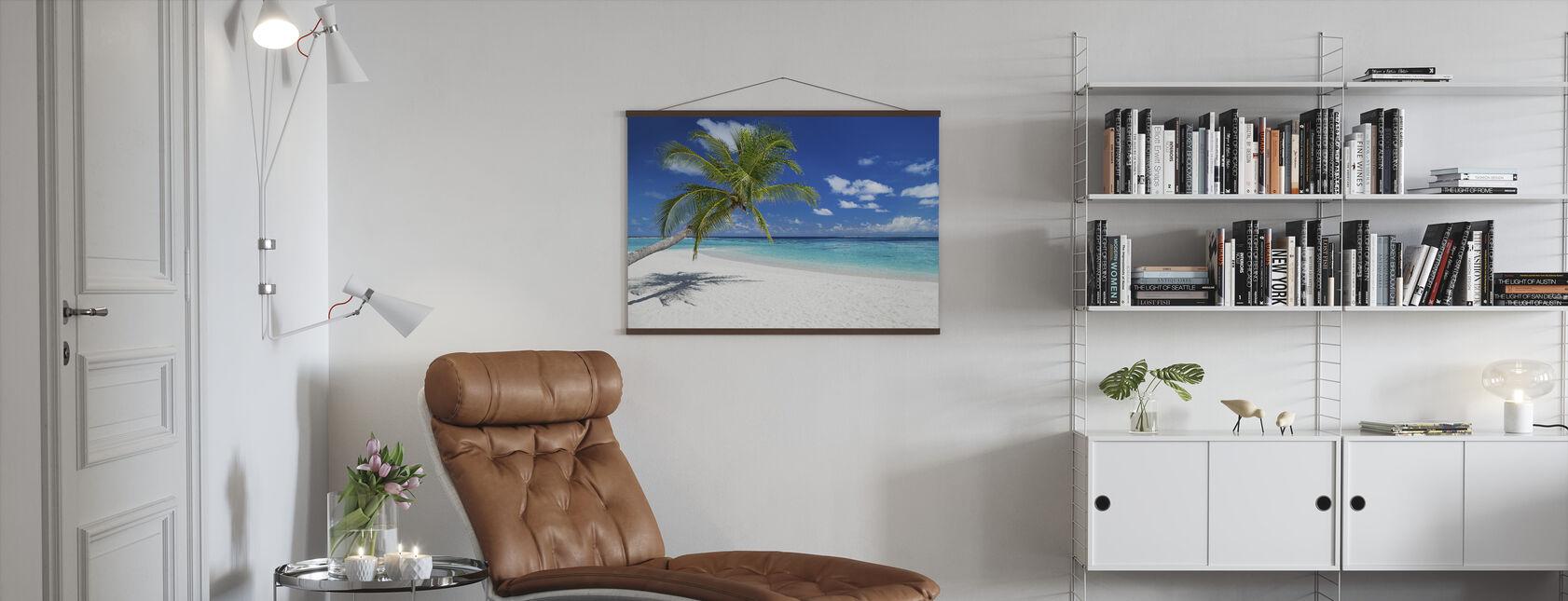 Tropical Beach - Poster - Living Room