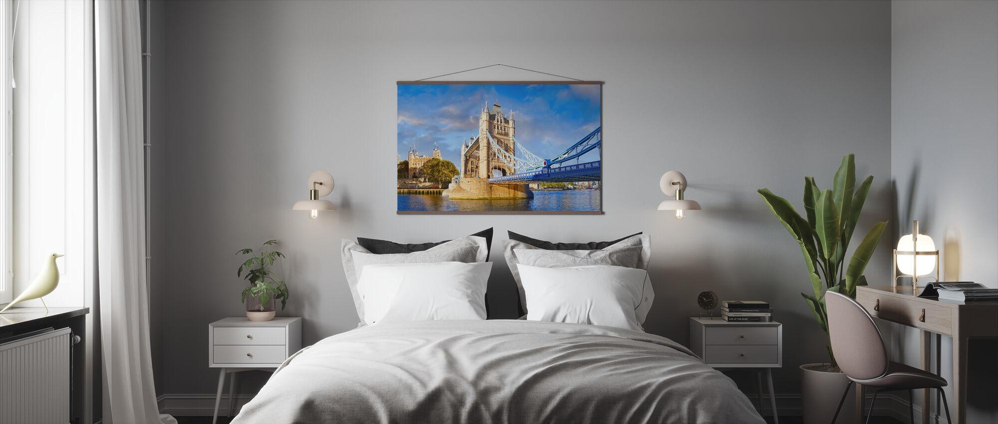 London og Tower bridge - Plakat - Soverom