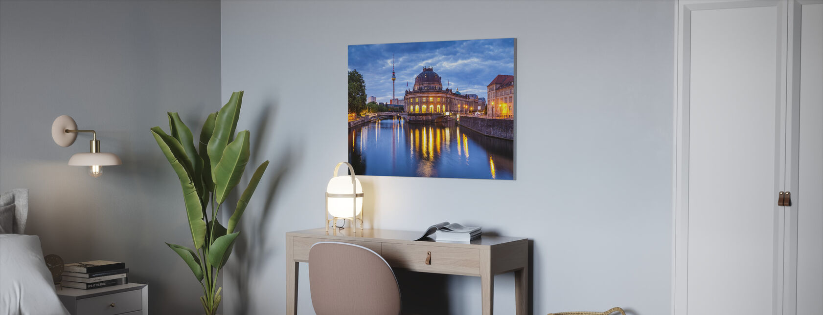 Bode Museum - Canvas print - Office