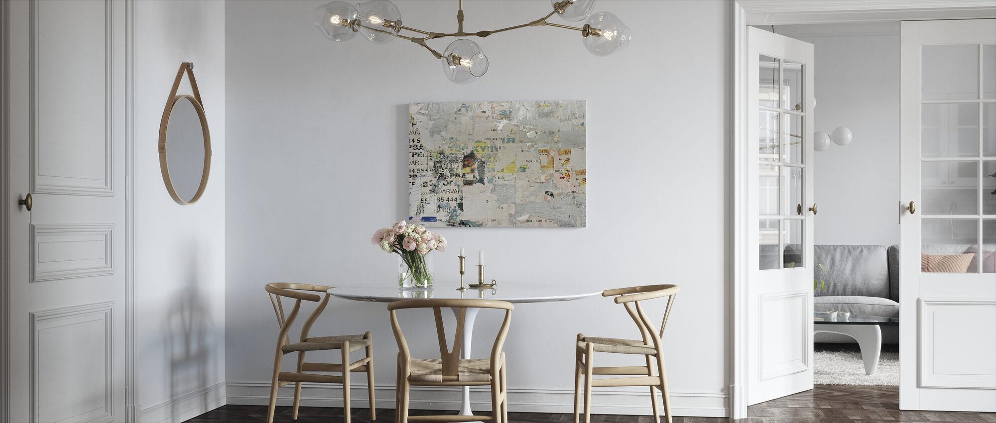 Urban Billboard - Canvas print - Kitchen