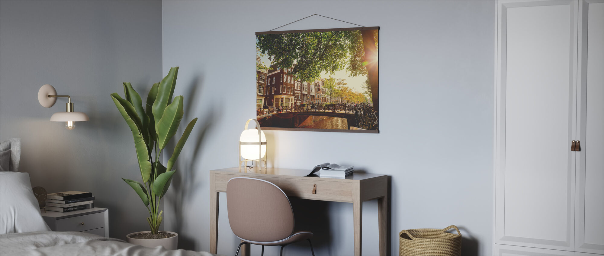Bridge in Amsterdam - Poster - Office