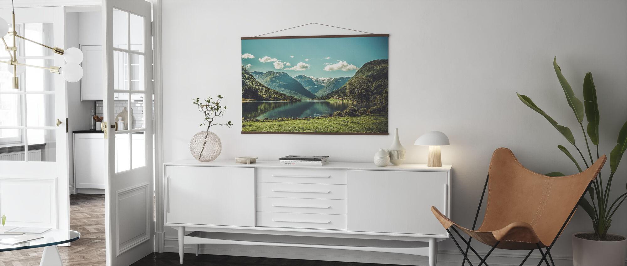 Landskap i Norge - Plakat - Stue