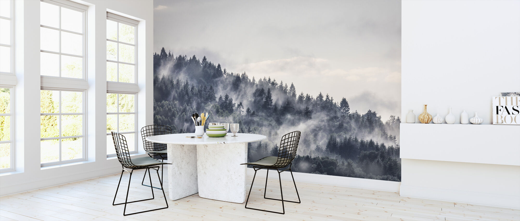 Mysterious Forest - Wallpaper - Kitchen