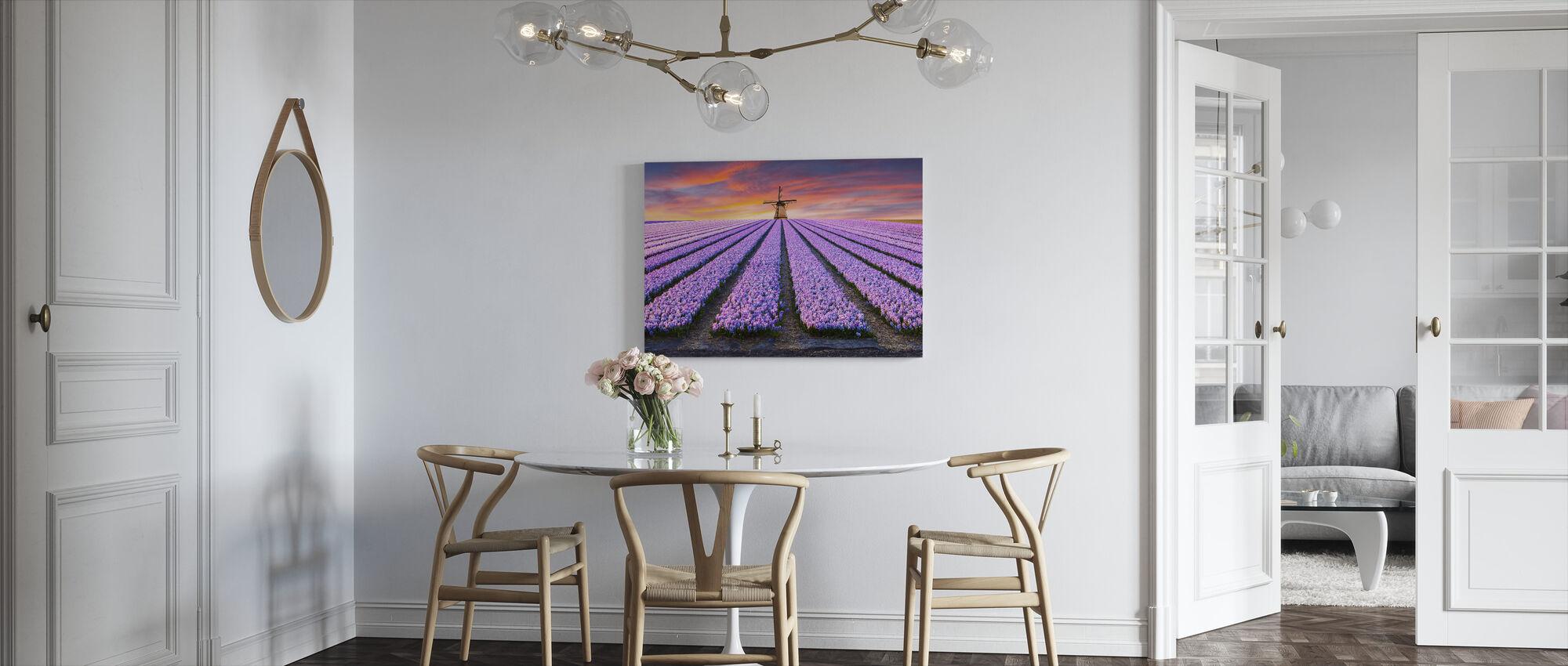 Farm of Flowers - Canvas print - Kitchen