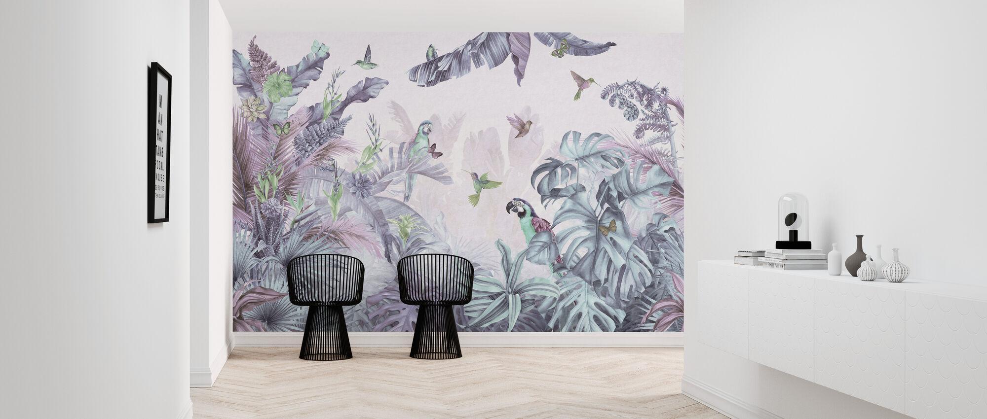 Parrots Paradise - Polychrome - Wallpaper - Hallway