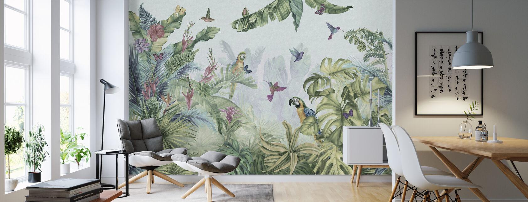 Papegøyer Paradise - Tapet - Stue