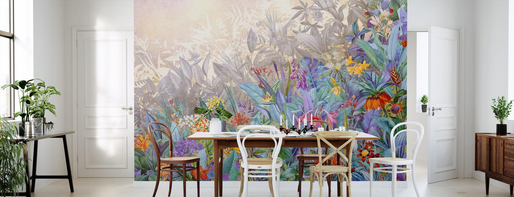 Colorful Blossom - Wallpaper - Kitchen