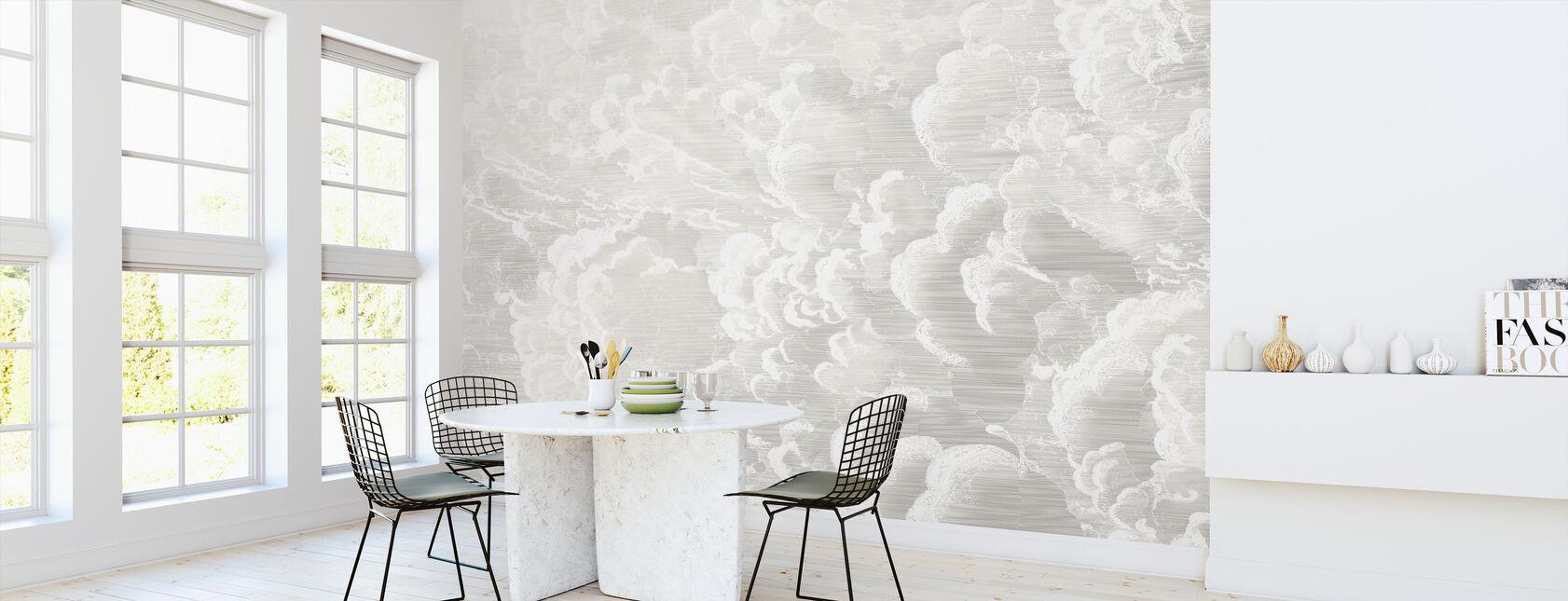 Cradled in Clouds - Pastel - Wallpaper - Kitchen