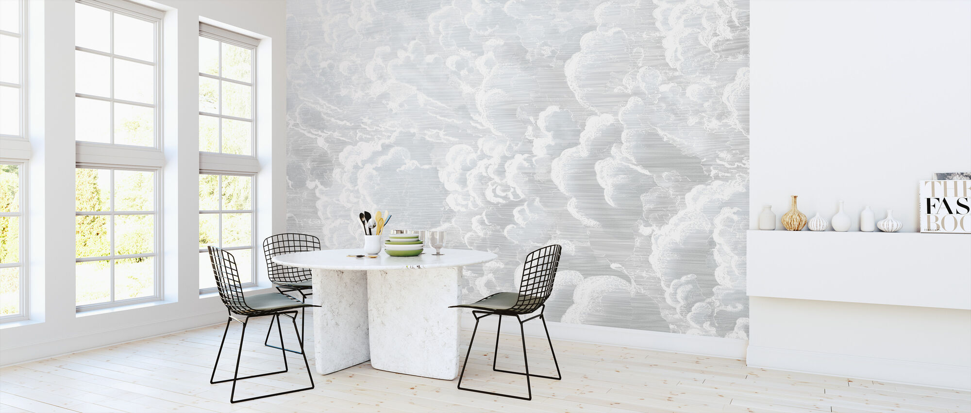 Cradled in Clouds - Wallpaper - Kitchen
