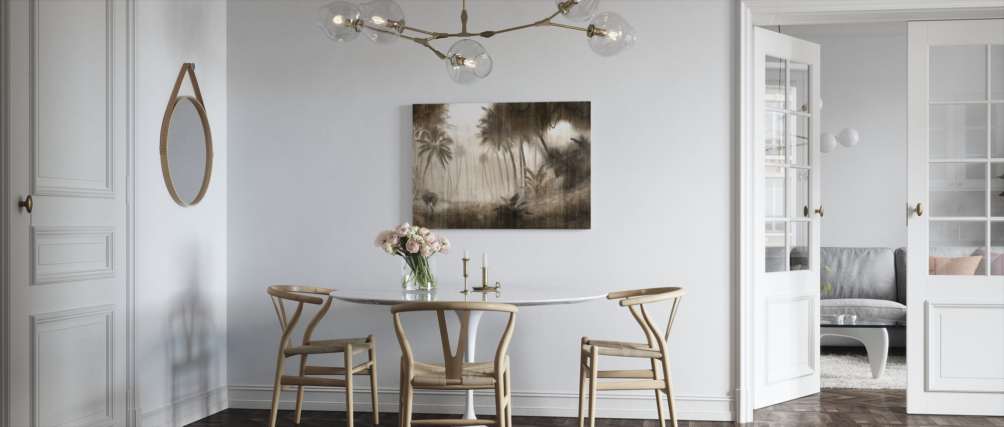Definitive Tropical - Hazel - Canvas print - Kitchen