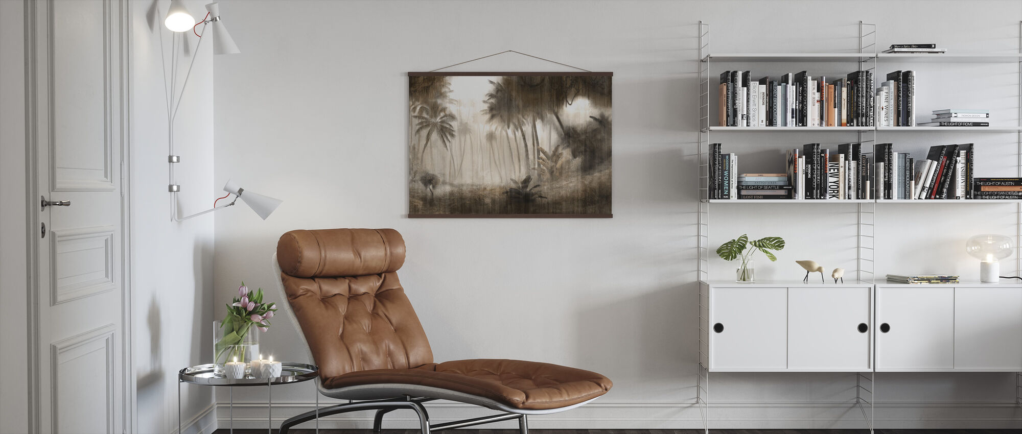 Definitive Tropical - Hazel - Poster - Living Room