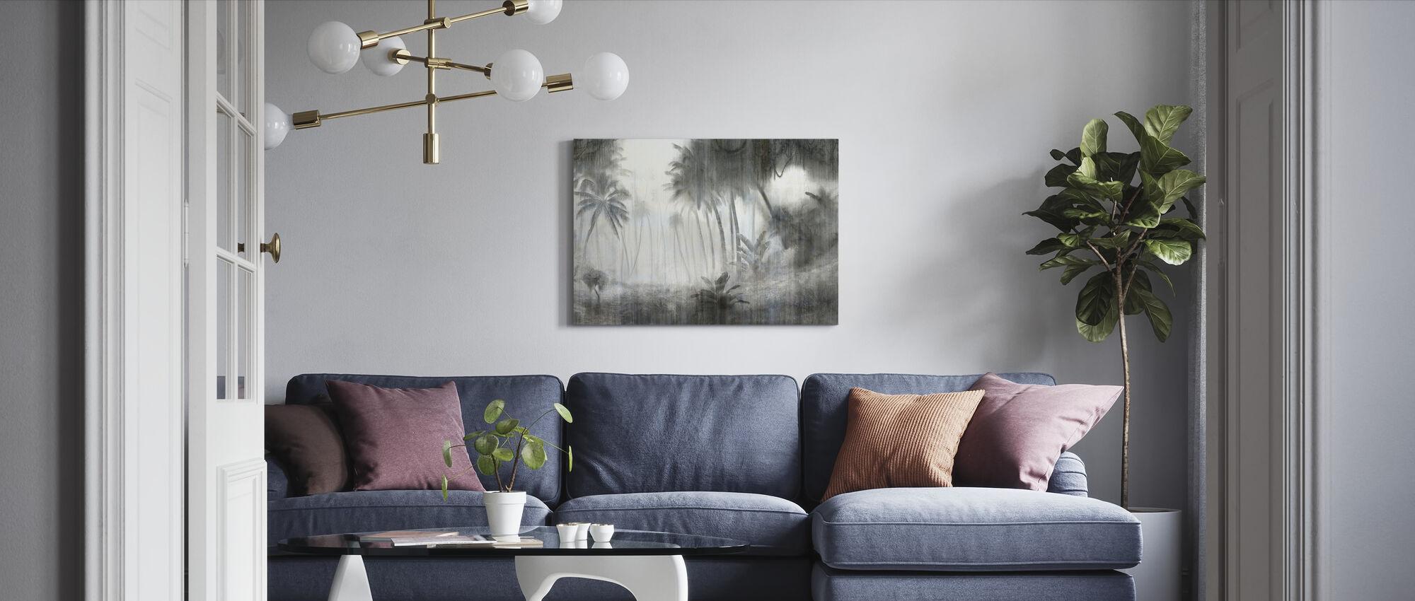 Definitiv tropisk - ljus - Canvastavla - Vardagsrum