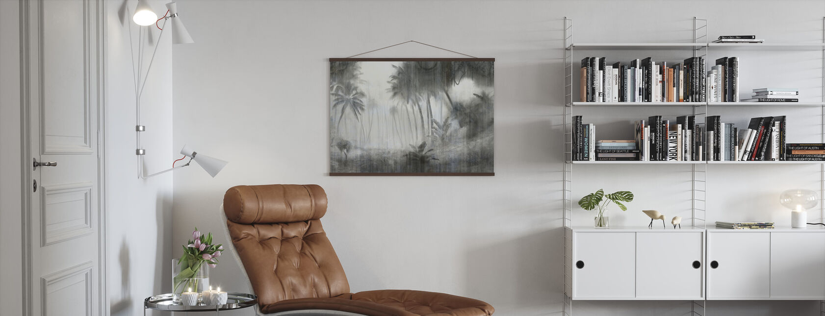 Definitive Tropical - Bright - Poster - Living Room