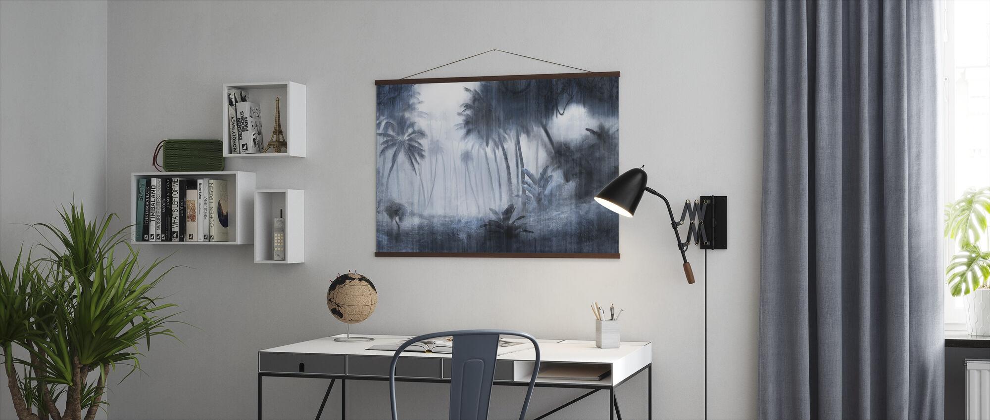 Definitive Tropical - Indigo - Poster - Office