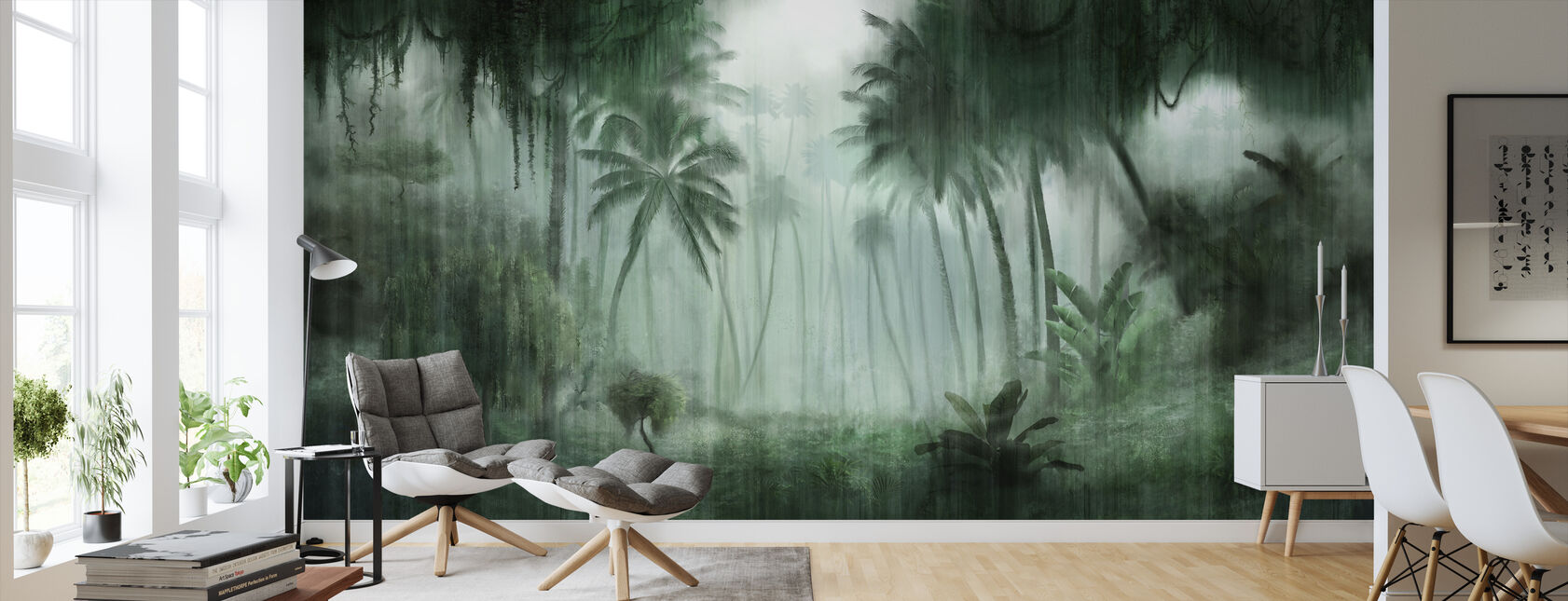 Definitive Tropical - Wallpaper - Living Room