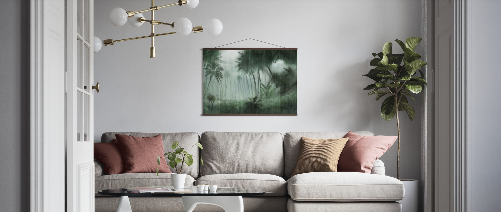 Definitive Tropical - Poster - Living Room