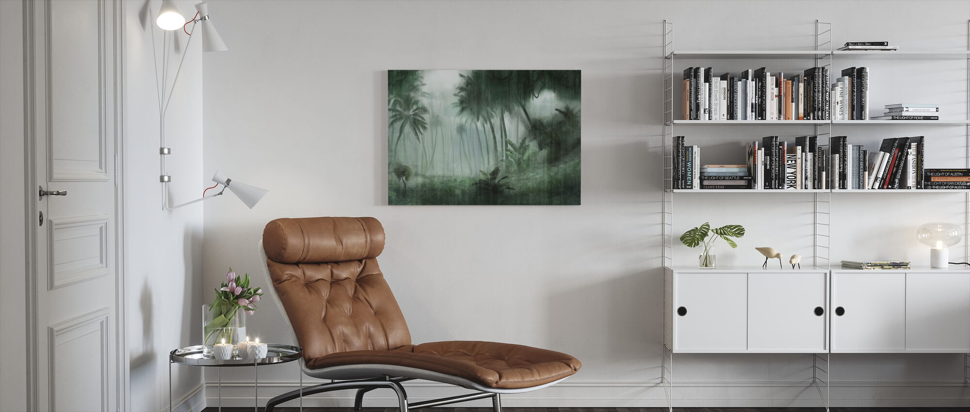 Definitive Tropical - Canvas print - Living Room